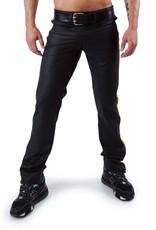 RoB F-Wear Full Zip Jeans, Double Yellow Stripe