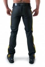 RoB F-Wear Full Zip Jeans met dubbele gele strepen