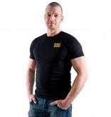 RoB RoB T-Shirt Zwart met geel logo
