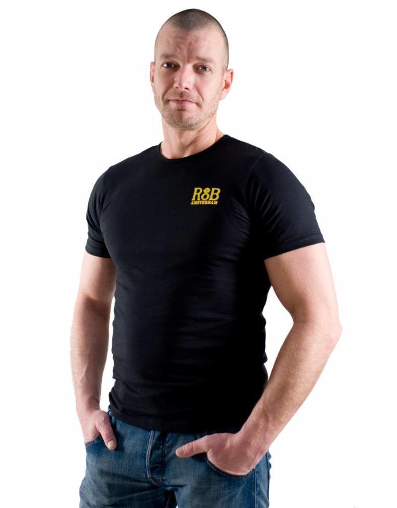 RoB RoB T-Shirt Black/Yellow
