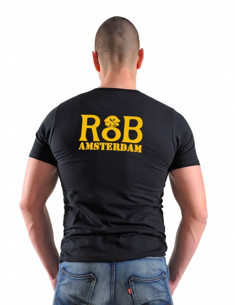 RoB RoB T-Shirt Schwarz/Gelb