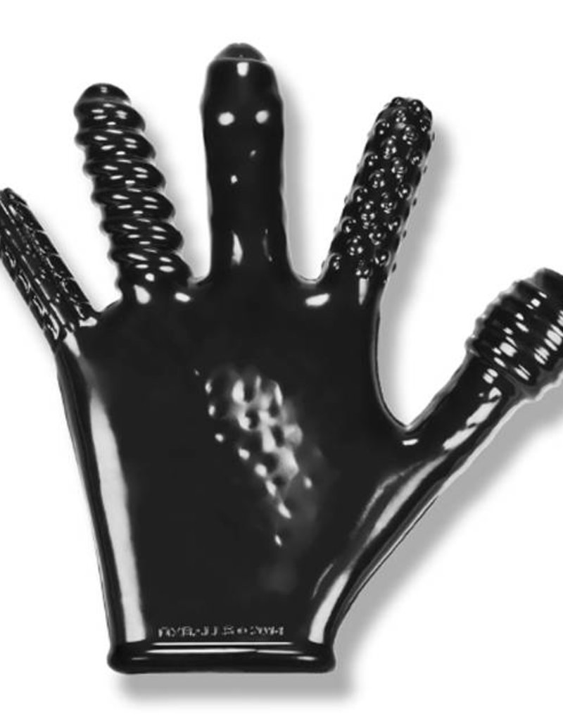 Oxballs Oxballs Finger Fuck Textured Glove Black
