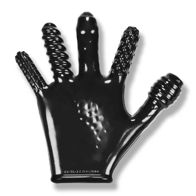 Oxballs Oxballs Finger Fuck Textured Glove Black