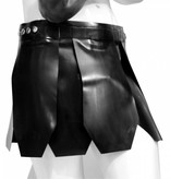 RoB Rubber Roman Kilt Black