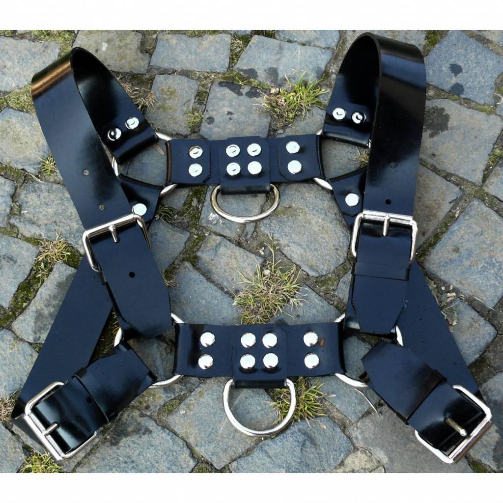 Fetishak Gummi Bulldog Harness