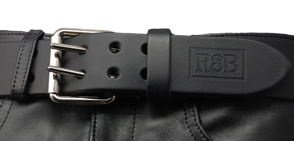 RoB RoB Leather Belt Double Buckle