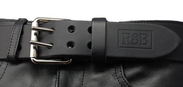 RoB RoB Lederguertel mit Doppelschnalle