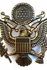 Metal Patch USAF bronze