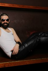 RoB Leather Cargo Pants