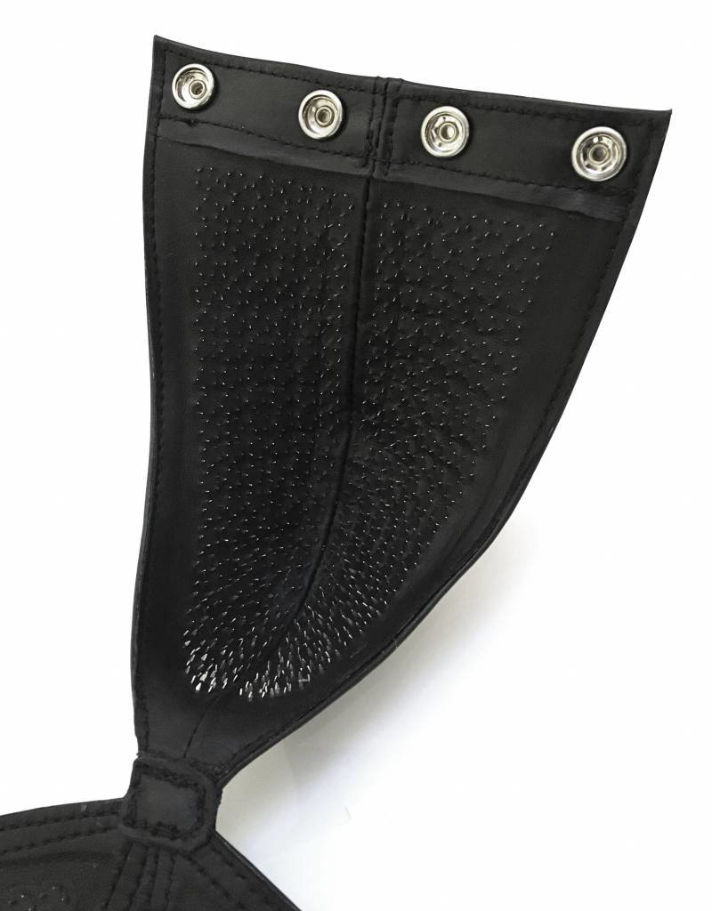RoB Leather Pin Prick Pouch with open ass