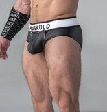 Maskulo Fetish Briefs with codpiece black