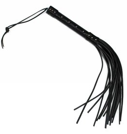 RoB Leather Short Flogger 16 strand hard tail