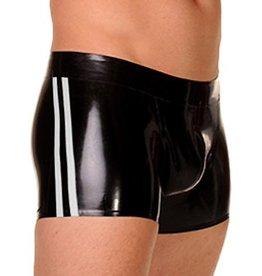 RoB Rubber Shorts with double White Stripes