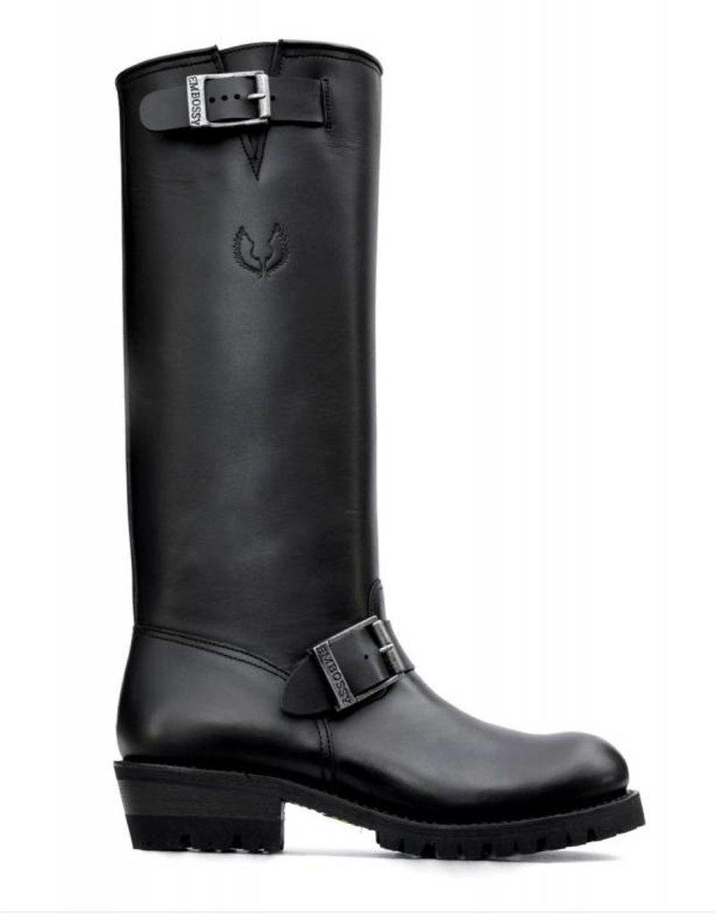"Embossy Boots Engineer Boss 18"""