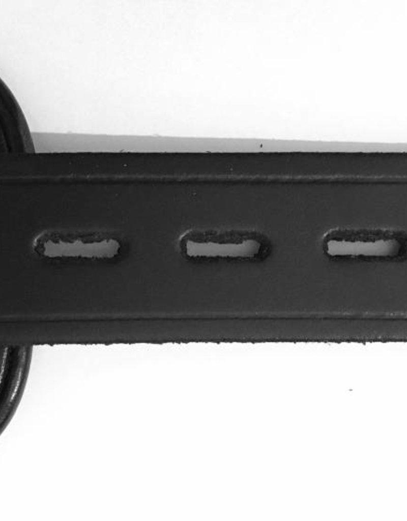 RoB Leather Ankle Restraints Lockable Black