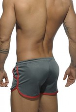 Addicted Addicted Sport Roky Short Grey - Red