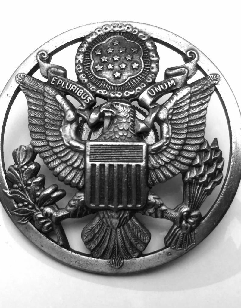 Metall Emblem rund