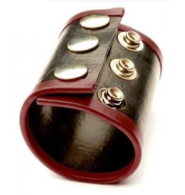Gummi Ballstretcher Large schwarz mit rot