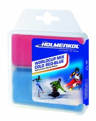 Holmenkol worldcup mix cold red blauw