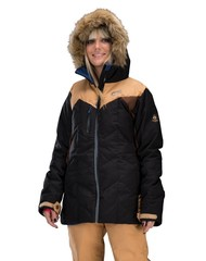 Picture ladies fly ski-jacket black