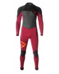 Brunotti wetsuit bravery 5/3 dl red 2016