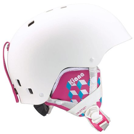 Salomon skihelm kiana jr white