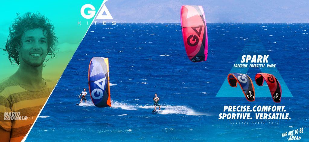 GA-Kiteboarding kite spark 2016 test