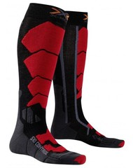 X-SOCKS ski control black/red