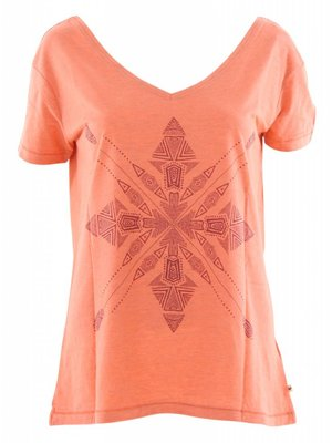 Roxy Pink Lake Four Stars T-Shirt