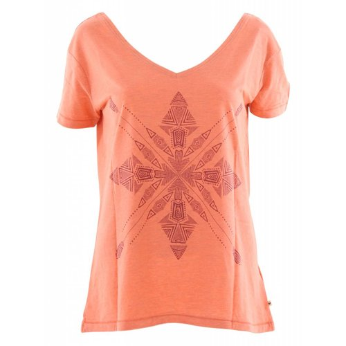 Roxy Pink Lake Four Stars T-Shirt