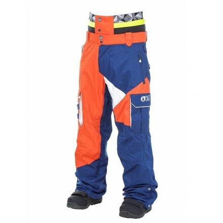 Picture styler pant - orange - dark blue