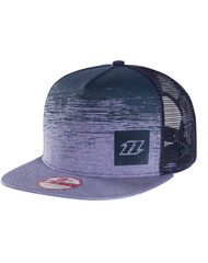 North new era cap 9 fifty fade - blue