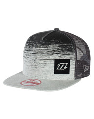 North new era cap 9 fifty fade - zwart