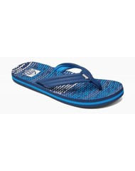 Reef kids flip flop ahi blue horizon