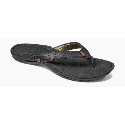 Reef ladies flip flop miss j-bay black/gold