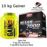 10 kg Gainer BBN Hardcore + 3XL Nutrition