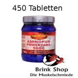 AminoPur Powertabs 1600 Kautabletten - Dose 450