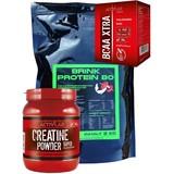 Protein 80 2 kg + 500 g Creatine + 200 g Bcaa Activlab
