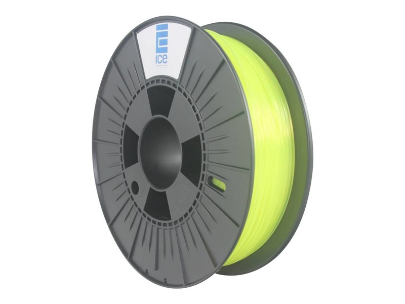 "ICE ABS Filament ""Fluo Young Yellow"""