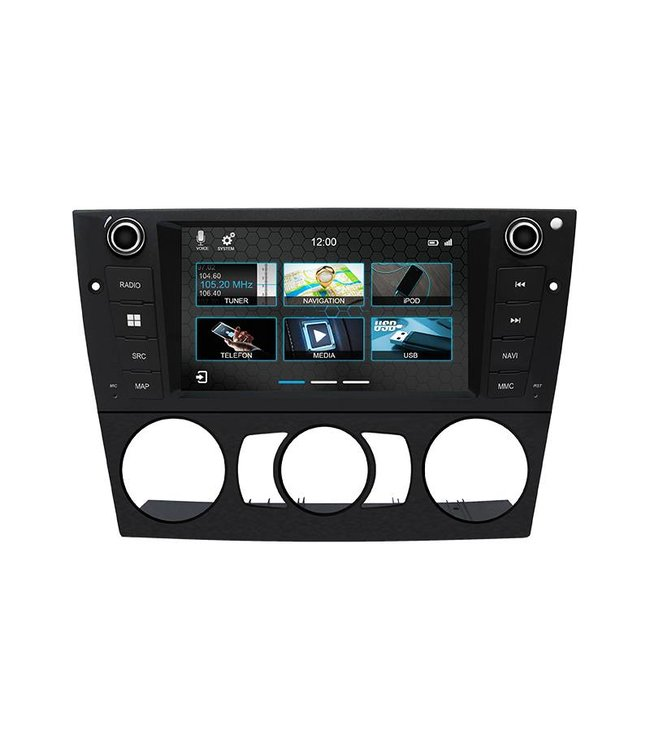 Dynavin N7-E90M: Navigationsgerät für 3er BMW