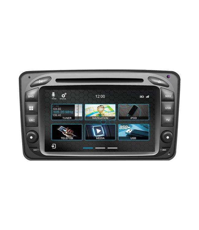 Dynavin N7-MC2000: Navigationsgerät für Mercedes CLK, Vito, Viano, C-Klasse und G-Klasse