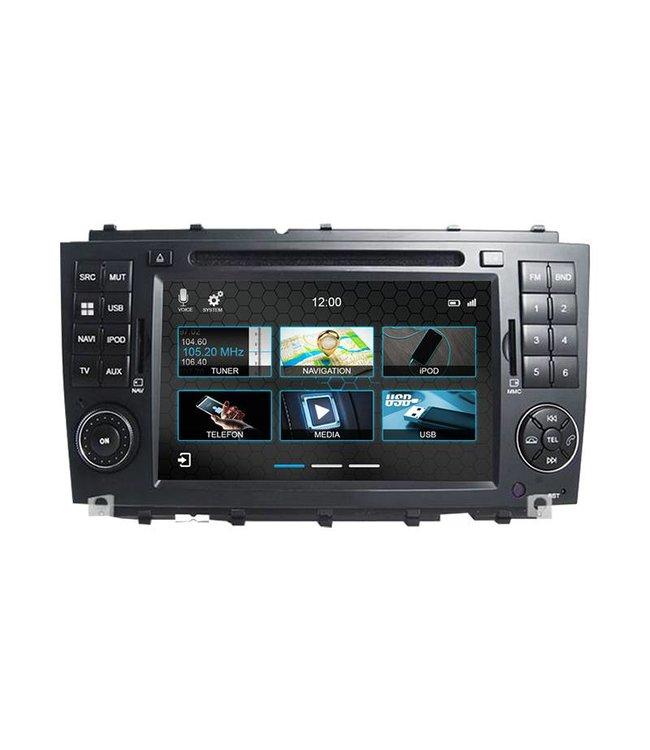 Dynavin N7-CLK: Navigationsgerät für Mercedes CLK Facelift