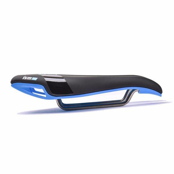 ISM PN 3.0 Zwart Blauw Fietszadel