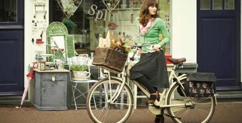 Trendy dubbele fietstassen