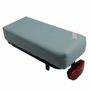 Hooodie Bagagedragerkussen BIG Cushie  Baby Blue