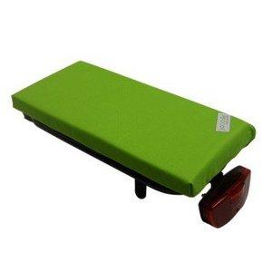Hooodie Bagagedragerkussen Cushie Lime Solid