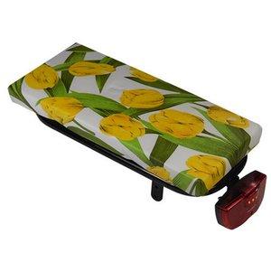 Hooodie Bagagedragerkussen Cushie Tulips Yellow