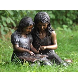 Eliassen Bild Bronze lesen Mädchen