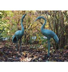 Eliassen Statuen Bronze Paar Kräne