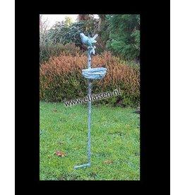 Bronze Vogel Einzug auf Stick
